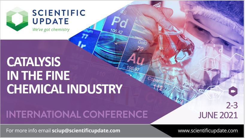 Save the date 2-3 June. Our 2 day conference brings together industrial & academic innovators to discuss emerging #catalytic technology and its application in the #pharmaceutical, agrochemical and fine chemical industries. Register at https://t.co/2VU8j05kPy #CatalysisConf21 https://t.co/MunLxmyaet