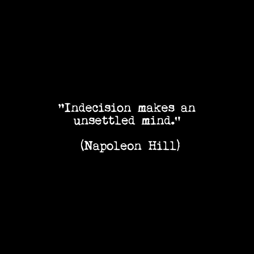 Indecision. #disciplineroad #Disciplineequalsfreedom #getyourmindright #discipline #selfgrowth #progress #health #mindset #success #story #quotes #life #stories #storytelling #writing #storywakeren #viral #illustration #75hard #livehard #feedthemind