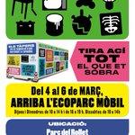 Image for the Tweet beginning: ♻️ #ECOPARCMÒBIL 👉 Torna l'ecoparc mòbil