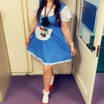 Miss Pretty is also ready for World Book Day. What are you dressing up as at home?