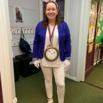 Happy World Book Day from Mrs Backhouse/ aka The White Rabbit