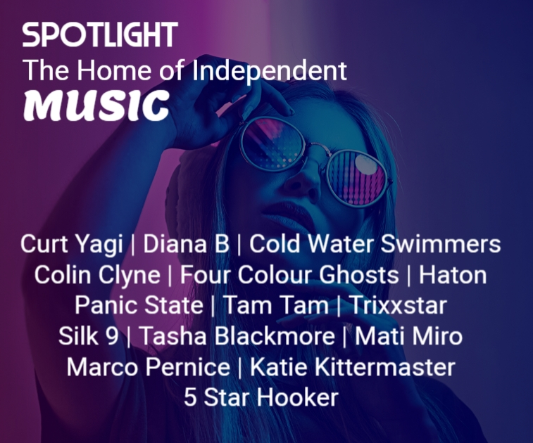 Now available ➡️ ON DEMAND ⬅️  Spotlight March 1st 2021     with @curtyagi @ColdH20Swimmers @colinclyne @PanicStateBand @SiLK9rocks @tashalblackmore @MatMiro @VOXPOPULIlive @kkittermaster   ❤️ Please #RT and show the artists some love ❤️