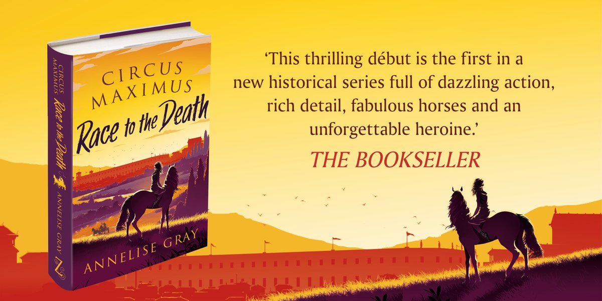 """Annelise Gray Freisenbruch on Twitter: """"Ready? And....go!!!! It's launch  day for my children's debut Circus Maximus: Race to the Death!!!  🥳🥳😍Thank you to @_ZephyrBooks and @_fkennedy for making my dream come  true."""