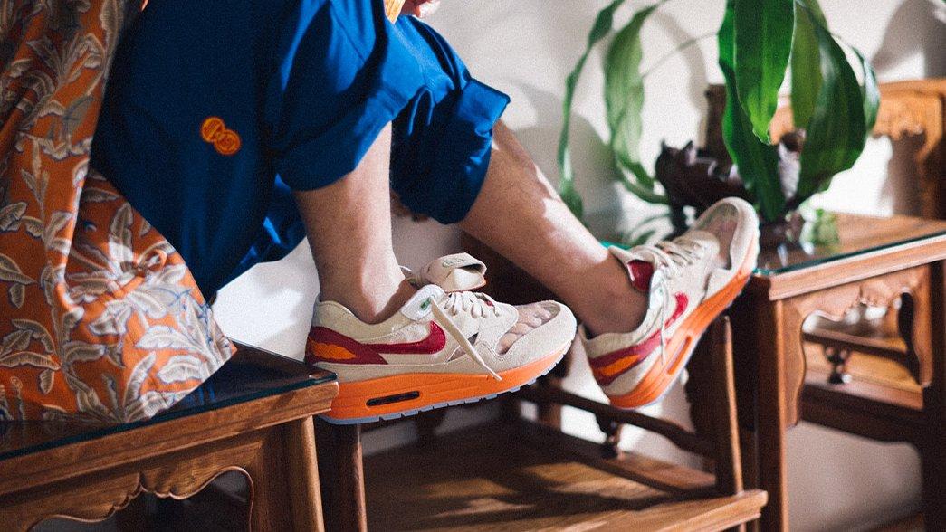 Footpatrol online raffle live for the Clot x Nike Air Max 1