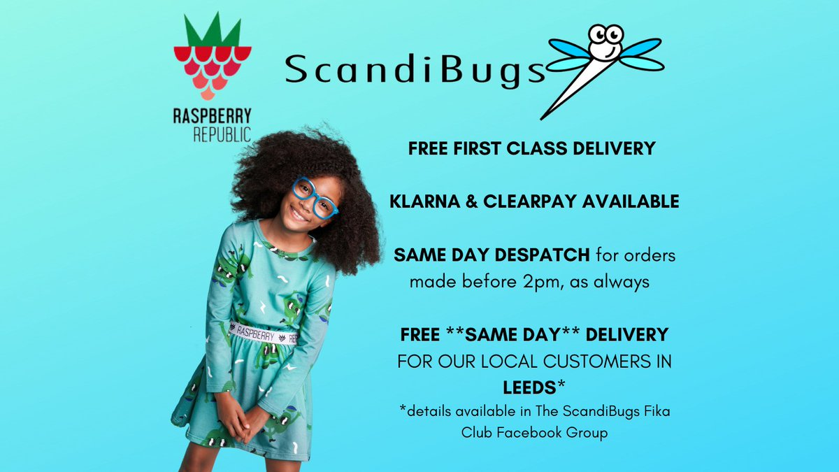 Raspberry Republic is coming to ScandiBugs TOMORROW! Spring '21 collection launches 10am Friday 5th March.  Head over to:   #scandibugs #scandi #thursdayvibes #FridayMotivation @raspberryrep #ethicalchildrensclothing #organic #organiclife