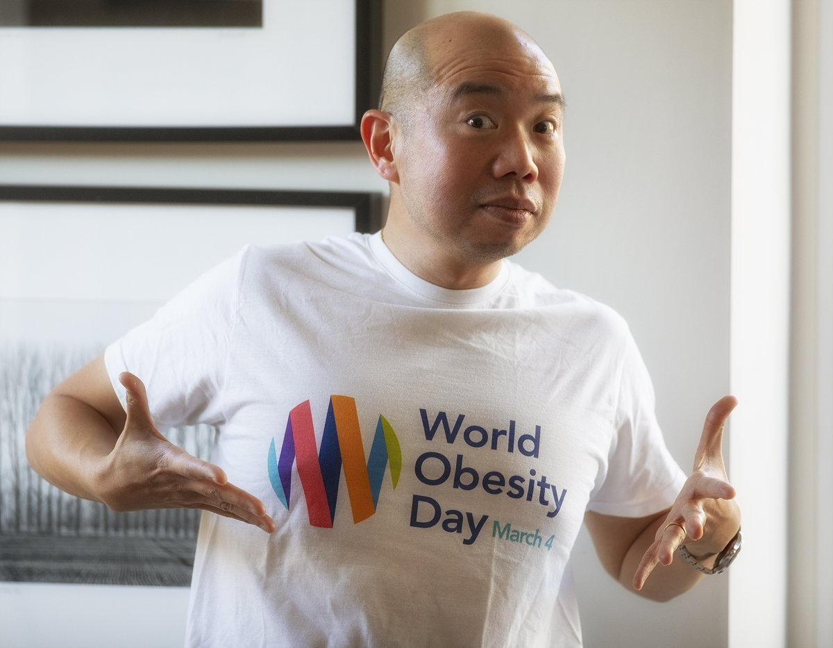 RT @GilesYeo: To day is #WorldObesityDay. It might seem a simple issue of carrying too much fat, but people end up with #Obesity for many d…