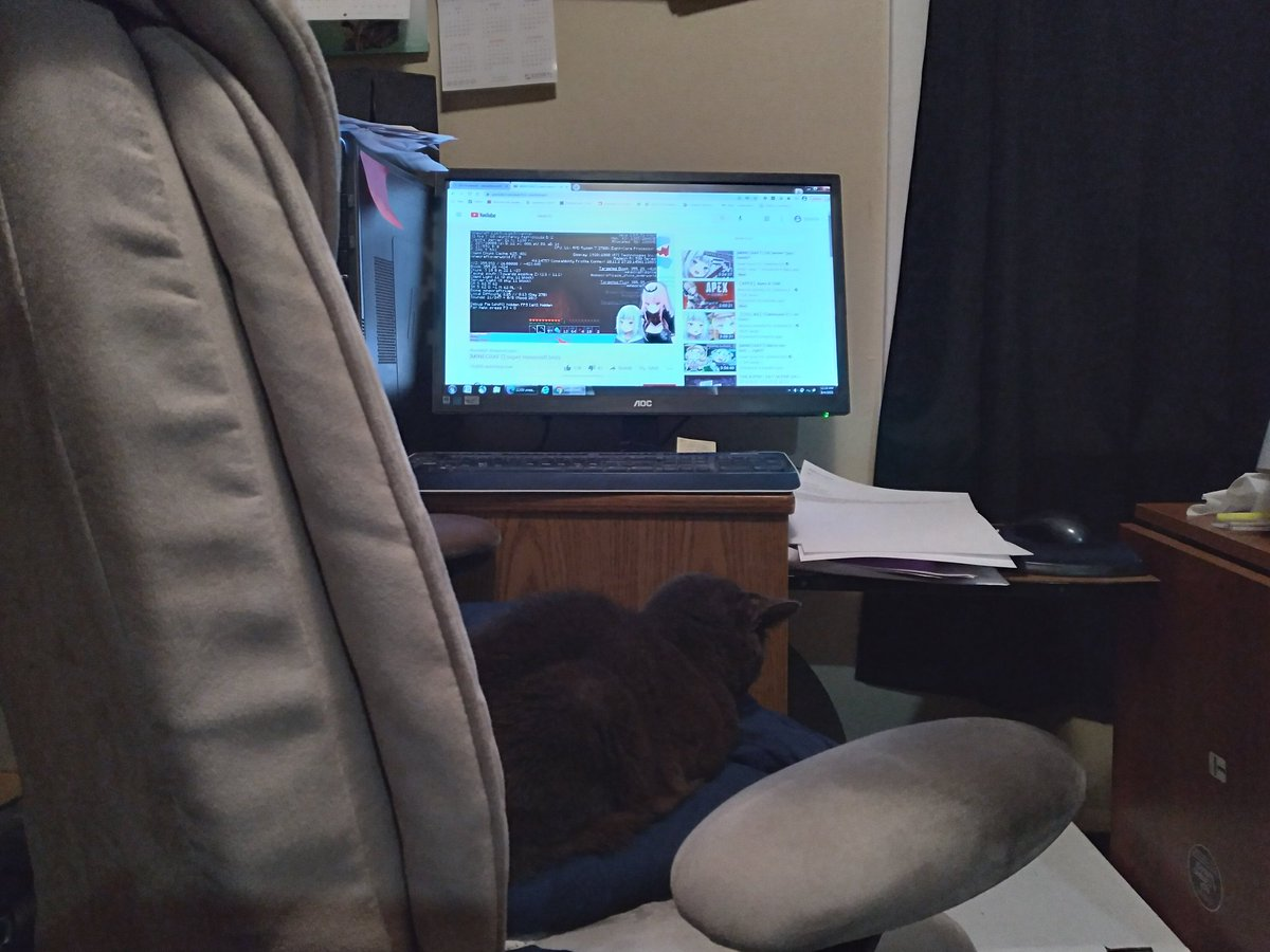 Replying to @cedric_alpha: This Gura/Calli stream brought to you by Old Spice  Also, she's watching with me