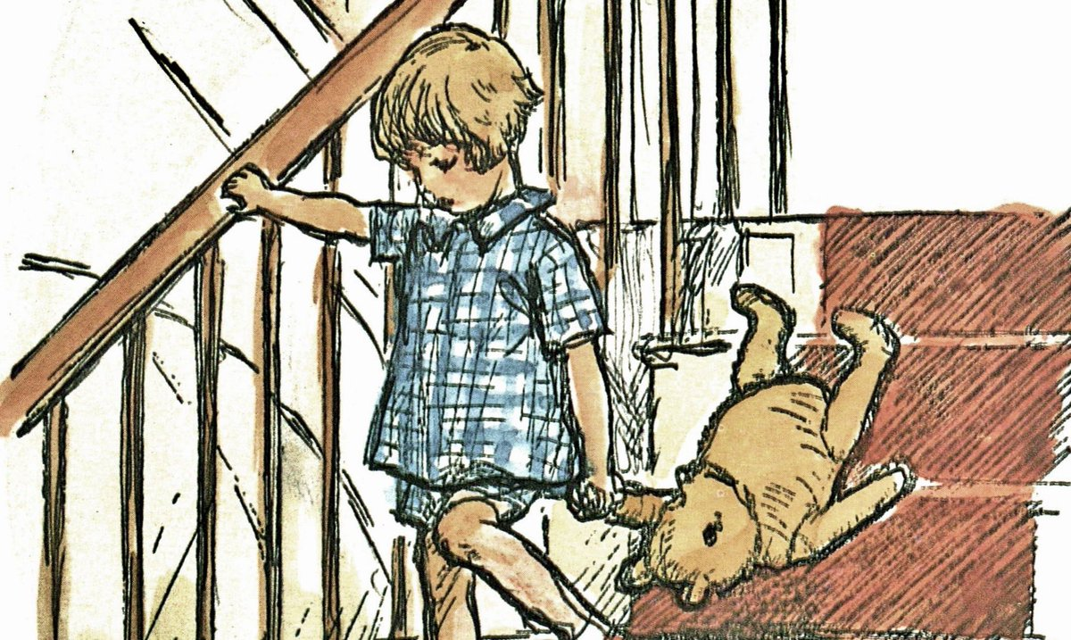 What about a story? said Christopher Robin. What about a story? I said. Could you very sweetly tell Winnie-the-Pooh one? I suppose I could, I said. What sort of stories does he like? About himself. Because hes that sort of Bear.~A.A.Milne #WorldBookDay #WinnieThePooh