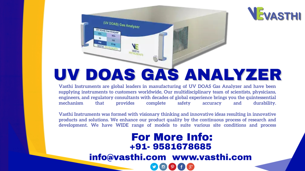 UV DOAS Gas Analyzer Mobile No:+91- 9581678685 visit us: Email-ID:info@vasthi.com #manufacturing #industrial #vasthiinstruments #services  #marketing #products #engineering #business #gas #tuesdayvibe  #Tuesday #entrepreneur #UVDOASGasAnalyzer #Toss #vasthi