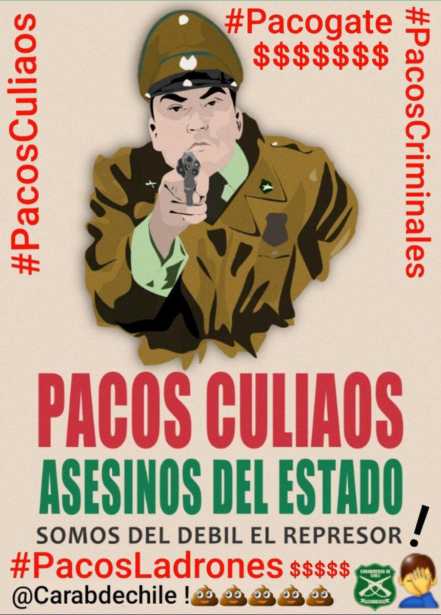 #PacosCorruptos #Pacogate $$$ #PacosCriminales  #PacosCuliaos #ChileDesperto  #RenunciaPiñera  #InstitucionPodrida #PautaLibre Yo creo que a Marzo del 2021 van + de 200 pacos en estas lides con el narcotra'fico ,haciendo una proyeccio'n! @Carabdechile debe ser refundado urgente!