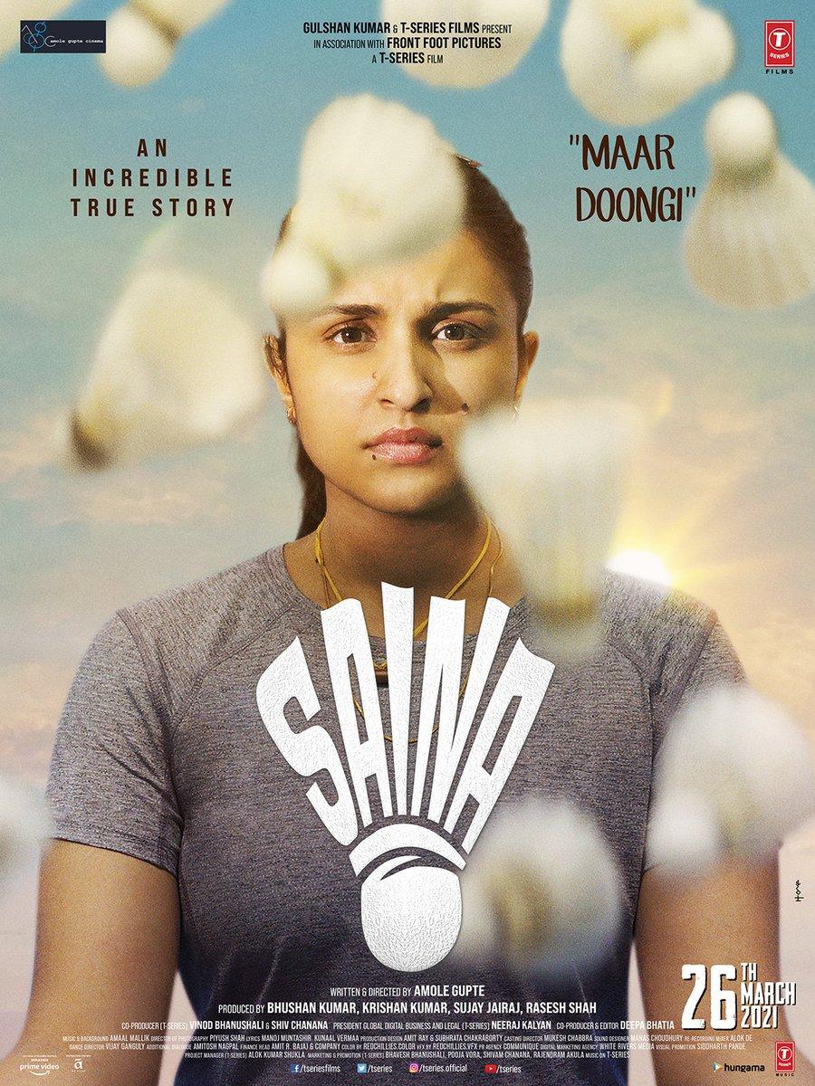Saina 2021 Hindi Movie AMZN WebRip | 480p | 720p | 1080p | Webdl