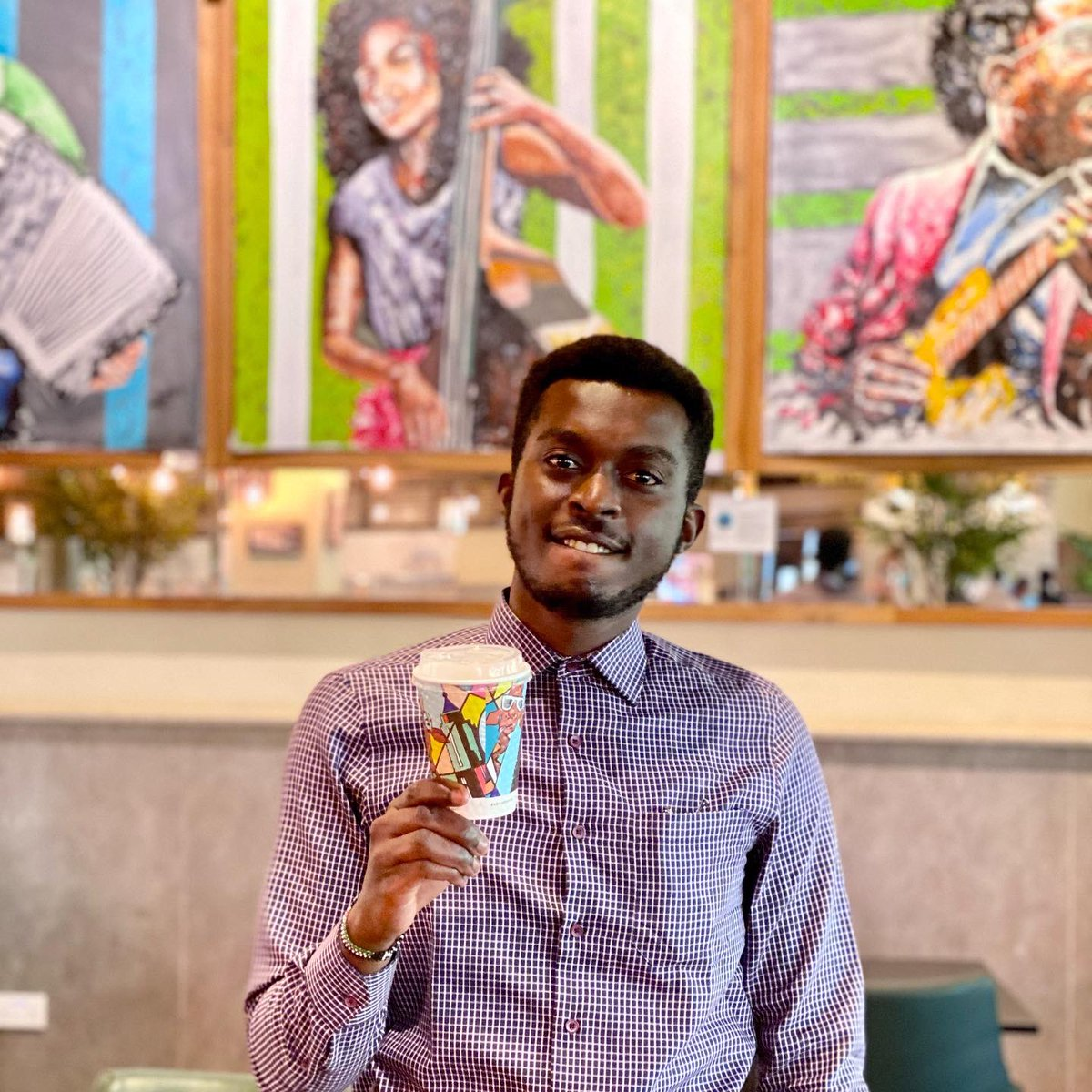 Get creative, be inspired and colour the city! 🎨 Tag #ARToftheCity for our fun weekly giveaways! Featuring @kharsh_art home-grown creative Cyprian Kiswili, our #ARToftheCity Best Design ❤️ Be sure to visit his exhibition in our @WestgateMallKe Branch, until the end of March! https://t.co/j1FQDOjwsd