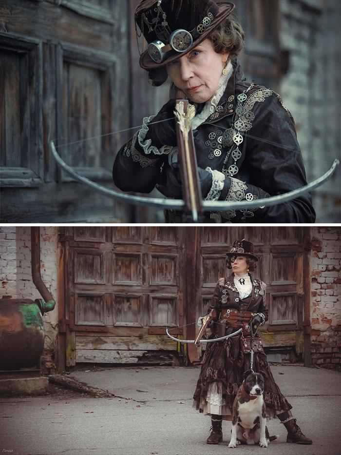 レベルが高すぎる?自作の衣装を身に着けてコスプレを楽しむ58歳の女性が凄い!