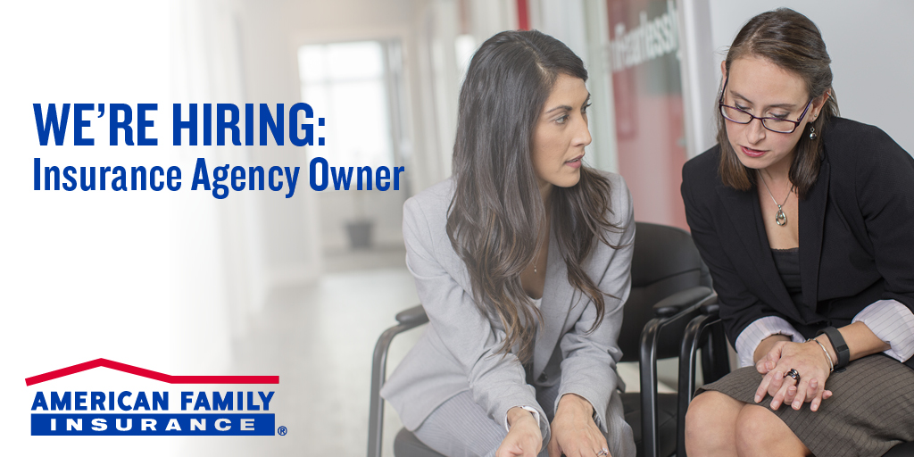 Lead a team. Take your career to the next level. Make a difference in your community. This the job of an @AmFam agency owner. Are you ready? Join us?   Insurance Agency Owner   White Bear Lake, MN  #iWork4AmFam