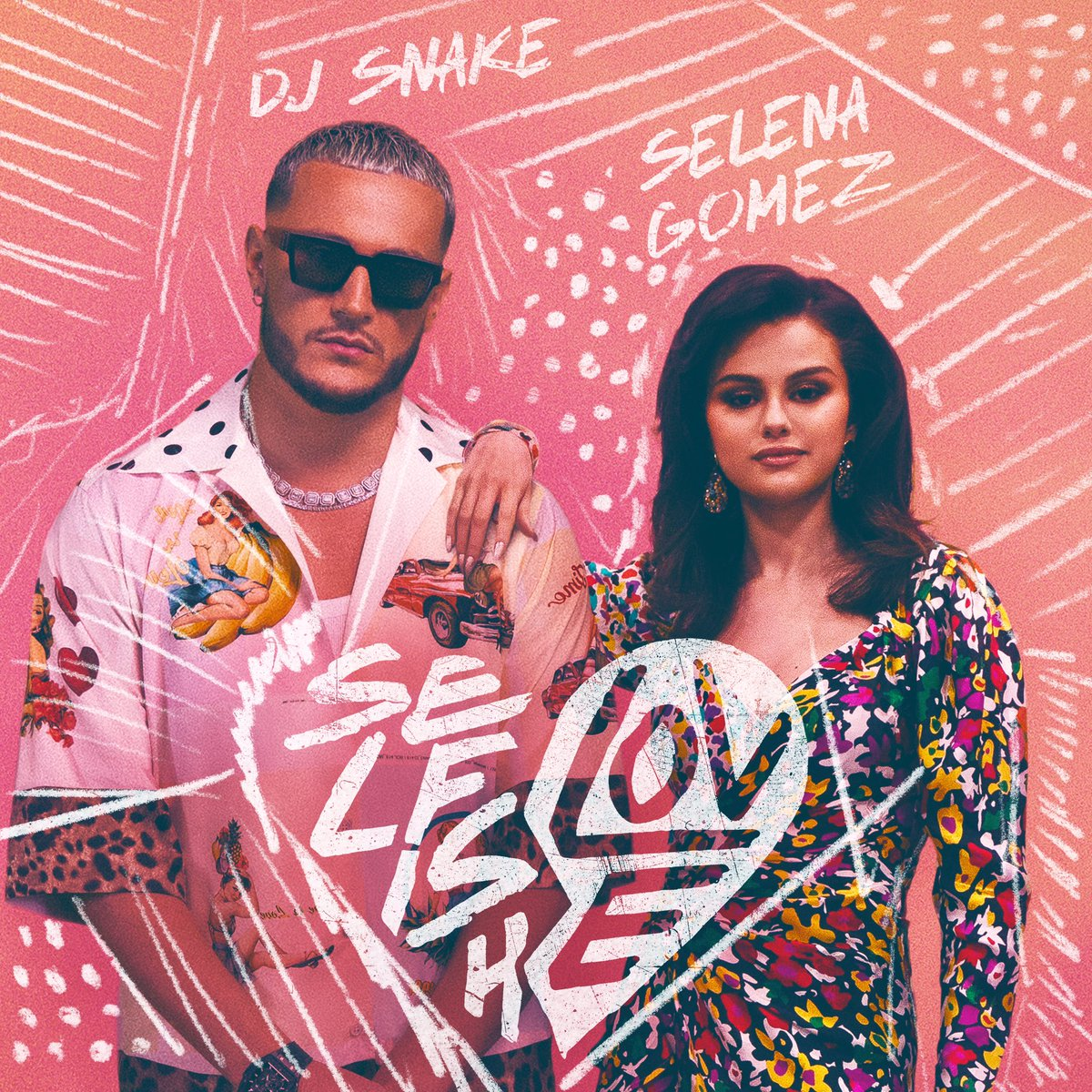 Replying to @djsnake: Selfish Love with @selenagomez is out now everywhere! 💞🎷