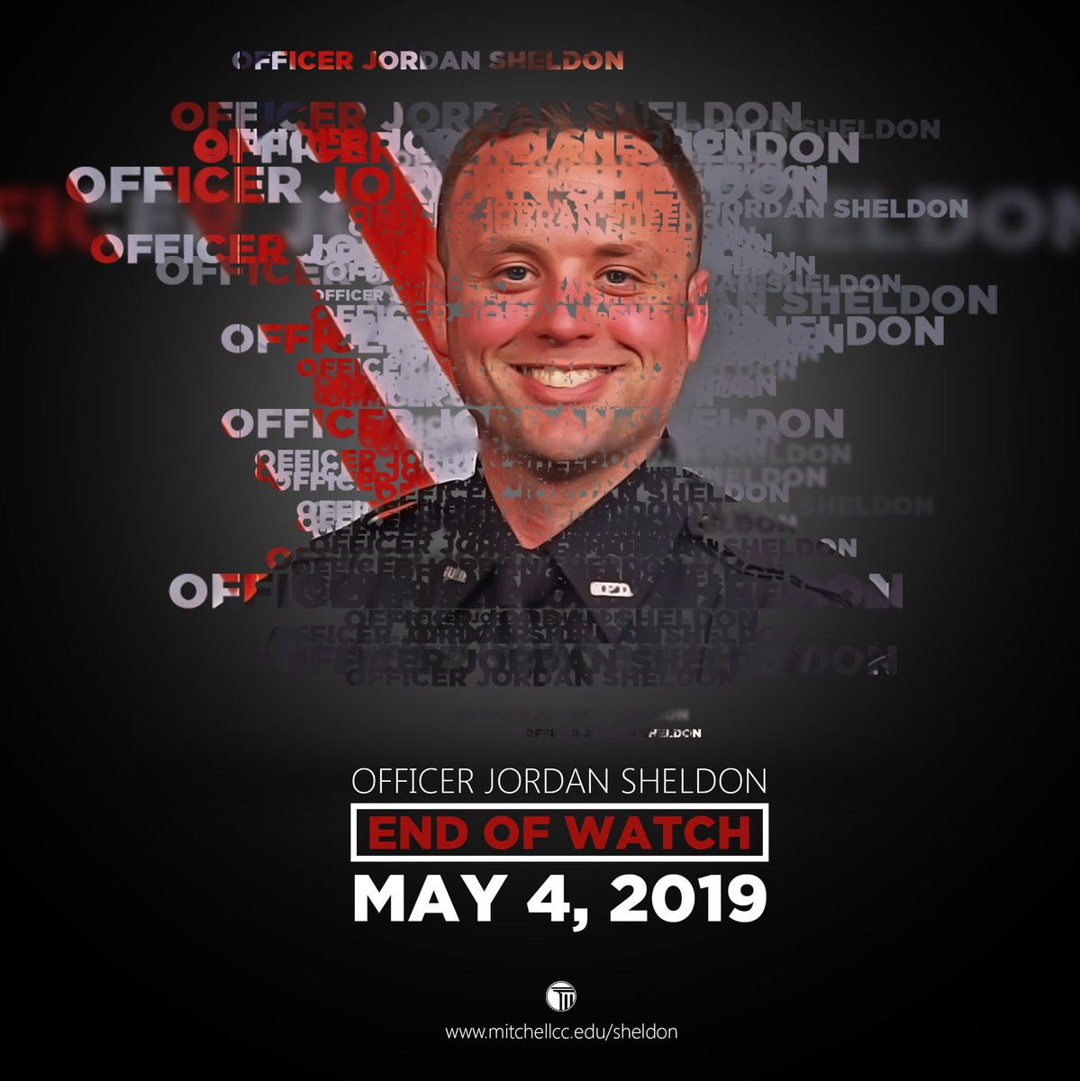 Today is Officer Sheldon's birthday.   Help us honor his memory by retweeting this post.  #HappyBirthday   Make a contribution to the Officer Jordan Sheldon Scholarship using the link below, and together, let's lift up the life and memory of this hero.  ➡️