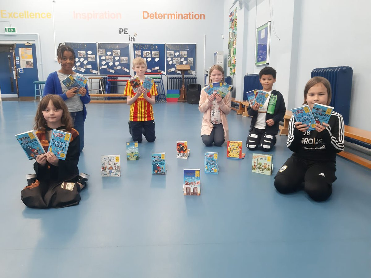 200 books delivered this morning to Bleakhouse Primary School. We hope you enjoy them!