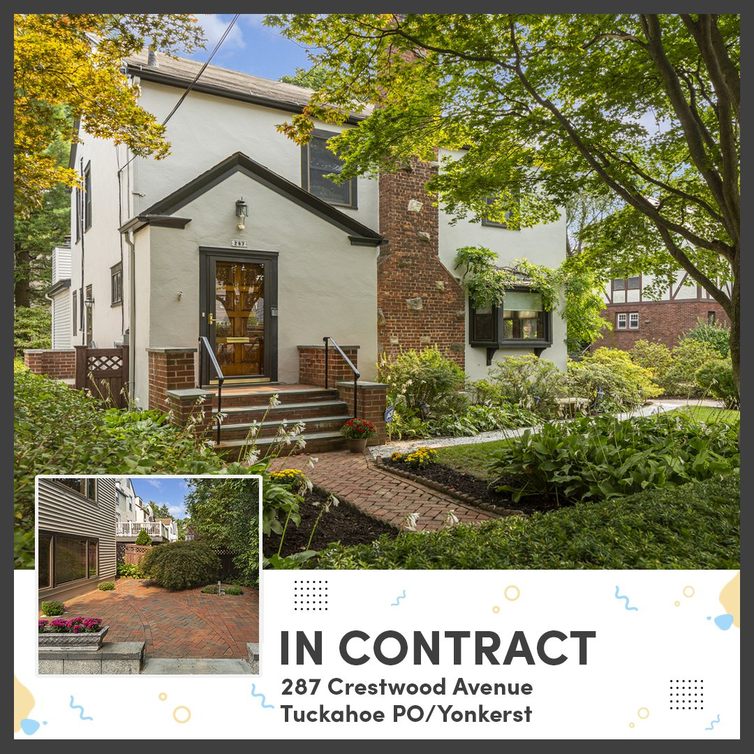 Houlihan & O'Malley has another home in contract!  Hire us to help you sell your home!  Call us - 914.337.7888  #luxuryrealestate #bronxville #listings #newyork #agents #realtor #mortgage #realestate #propertysales #house #dreamhouse #apartment #coop #condo #sales  #luxuryhomes