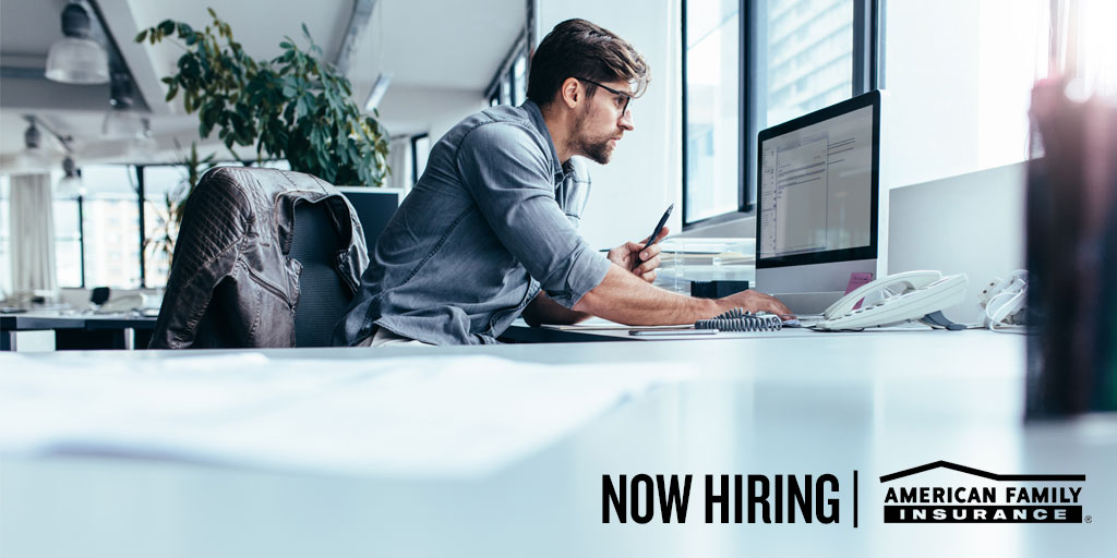 Join the @AmFam team as a Pricing Actuary! As a credentialed Actuary, you'll develops and implement statistical models and conduct other advanced actuarial analysis. Learn more + apply online:   #iWork4AmFam