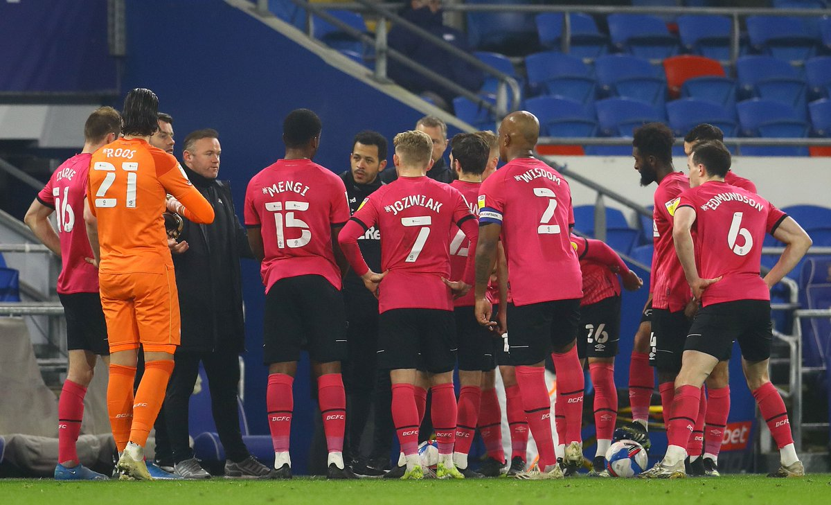 """𝗪𝗥: 🗣 """"The lads have been good in training. We know we have to respond. We're trying to encourage the players to play a little bit more, and we had lots of possession, but we didn't play past the halfway line. We conceded sloppy goals, so we need to be hard to play against."""""""