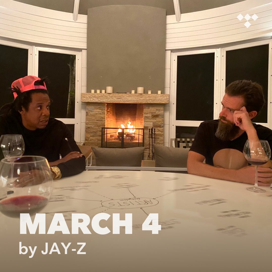 March 4 - A playlist curated by JAY-Z.