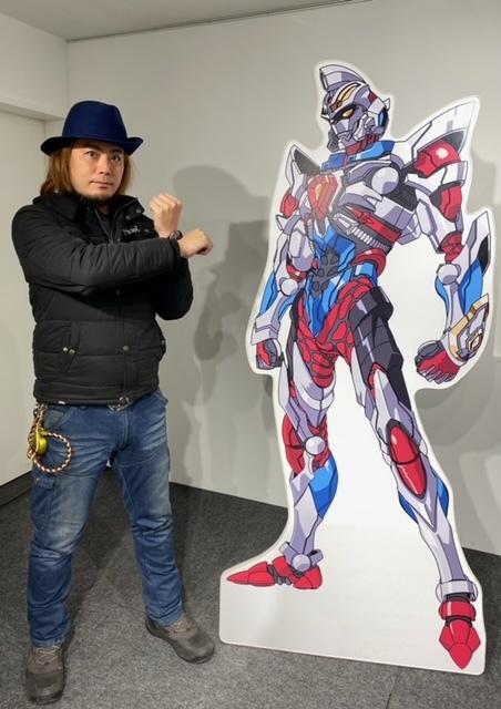 【『SSSS.GRIDMAN』 POP UP SHOP in 新宿マルイ メン】 本日3/4(木)「電光超人グリッドマン」の<翔 直人 役>小尾 昌也さんが遊びに来てくださりサインをいただきました♪ 皆さまのご来店お待ちしております。 詳細≫ #SSSS_GRIDMAN #SSSS_DYNAZENON