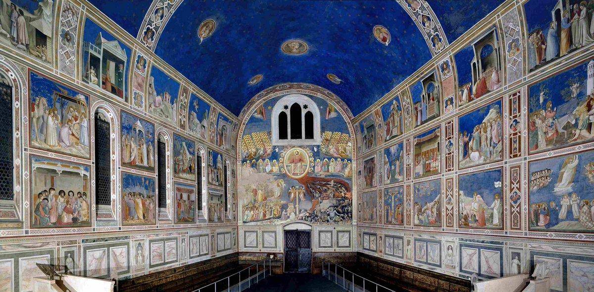 «Vide Giotto nell'arte quello che gli altri non agiunsono. Arrecò l'arte naturale e la gentileza con essa, non uscendo delle misure»  — Lorenzo Ghiberti, Commentarii https://t.co/jnEV3FnAd8