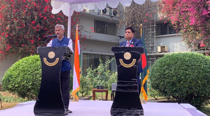 Bangladesh is central to India's neighborhood first Policy, says Jaishanker in Dhaka