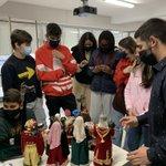 Image for the Tweet beginning: L'Aleix, exalumne de l'Escola, ens