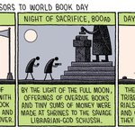 Image for the Tweet beginning: Happy #WorldBookDay!