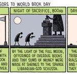 Image for the Tweet beginning: Happy #WorldBookDay!