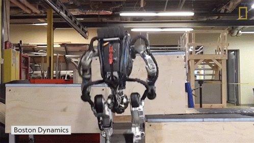 @BostonDynamics' #Robot Jumping #tuesdayvibe #tuesdaymotivations  #DEVCommunity #Programming #100DaysOfCode #IoT #IIoT #IoTPL #AI #MachineLearning #ML #Python #CloudComputing #Analytics #Serverless #cybersecurity #DataScience #BigData #5G #RPA #NLP #robotics #robots #4IR @yywwy3