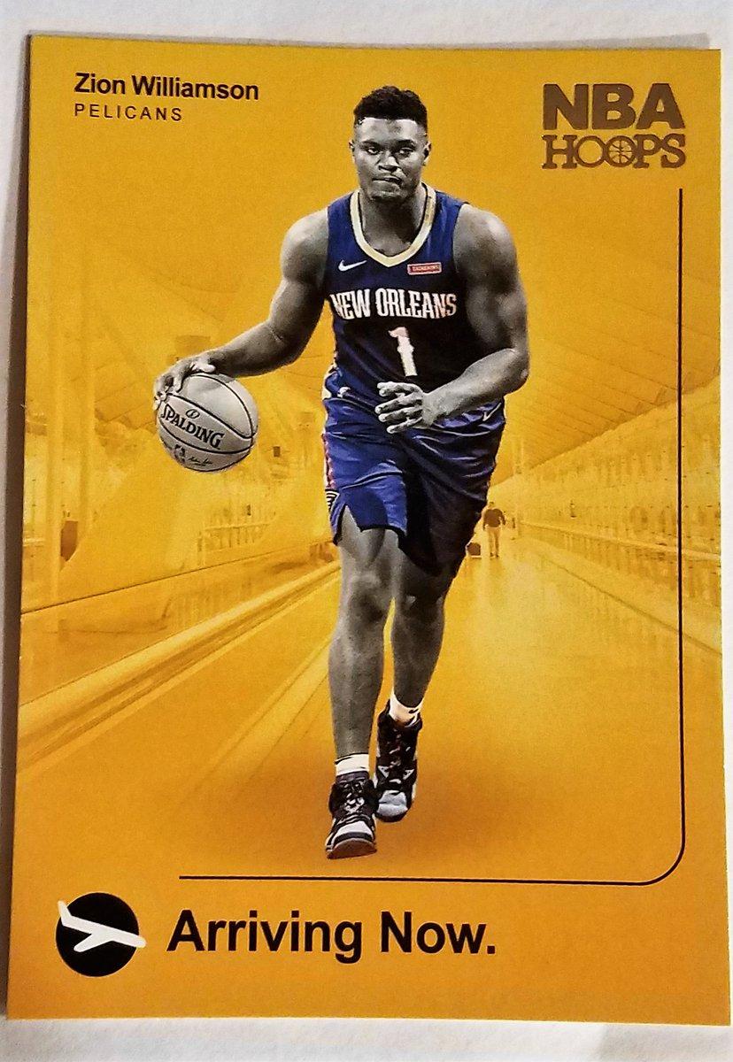 #Pelicans   ZION WILLIAMSON #2 ARRIVING NOW 2019-20 #PANINI-HOOPS BASKETBALL 2019 PANINI-#NBA PROPERTIES #Sportscards