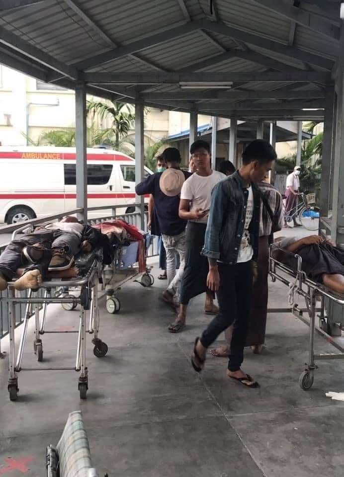@GuideCivilian TW//gunshots #March 3: Forty-four people are killed in violence across Burma by military dictators. #The Burmese military is using violence against the people.>>>>>> #WhatHappeningInMyanmar #RejectMilitaryCoup #March4Coup
