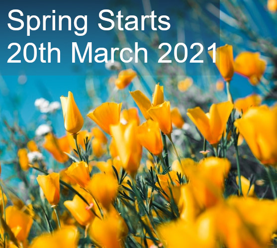 We all believe we should look forward to something, what better than the start of spring! Warmer days and lighter nights are on their way. #PositiveVibes  #spring #firstdayofspring #happy #mentalhealth #positivity #positivevibes