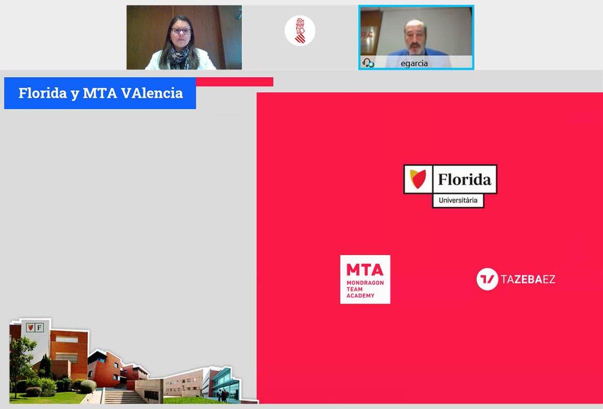 ⚡️👥Presentem #LlampDigital amb @floridauni i @MUnibertsitatea per reforçar #emprenedoria col•lectiva des de l'àmbit digital i tecnològic com a motor de desenvolupament d'empreses disruptives d'alt impacte i oferir solucions a les #coop valencianes   #TechforGood #AMES #LLAMP3I