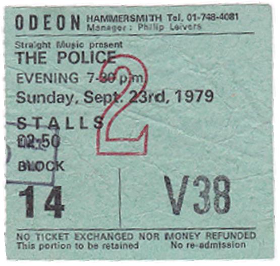 #JohnDHastings #Singer #Songwriter #My first memorable gig in London - The Police 1979