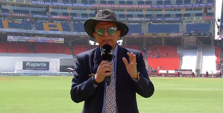 """Sunny G is not mincing his words on all the talk about the pitch 💥 - """"#ChalPhut!""""  Waiting to see what meme @WasimJaffer14 can turn this into 🤭  #INDvENG #AmdavadTaiyarHai #IndiaTaiyarHai"""