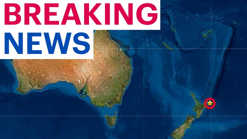 New Zealand is hit by 7.3-magnitude earthquake triggering a tsunami warning trib.al/gdtcRBJ