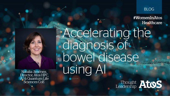 Using #AI, we can accelerate processes, free-up clinician time, and aid faster accurate...