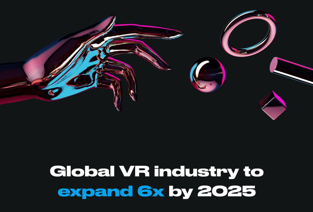 🎮👓As #VR hardware solutions become cheaper and more quality content is available to users, the VR market is expected to expand dramatically over the next few years.  📄 According to Mordor Intelligence report