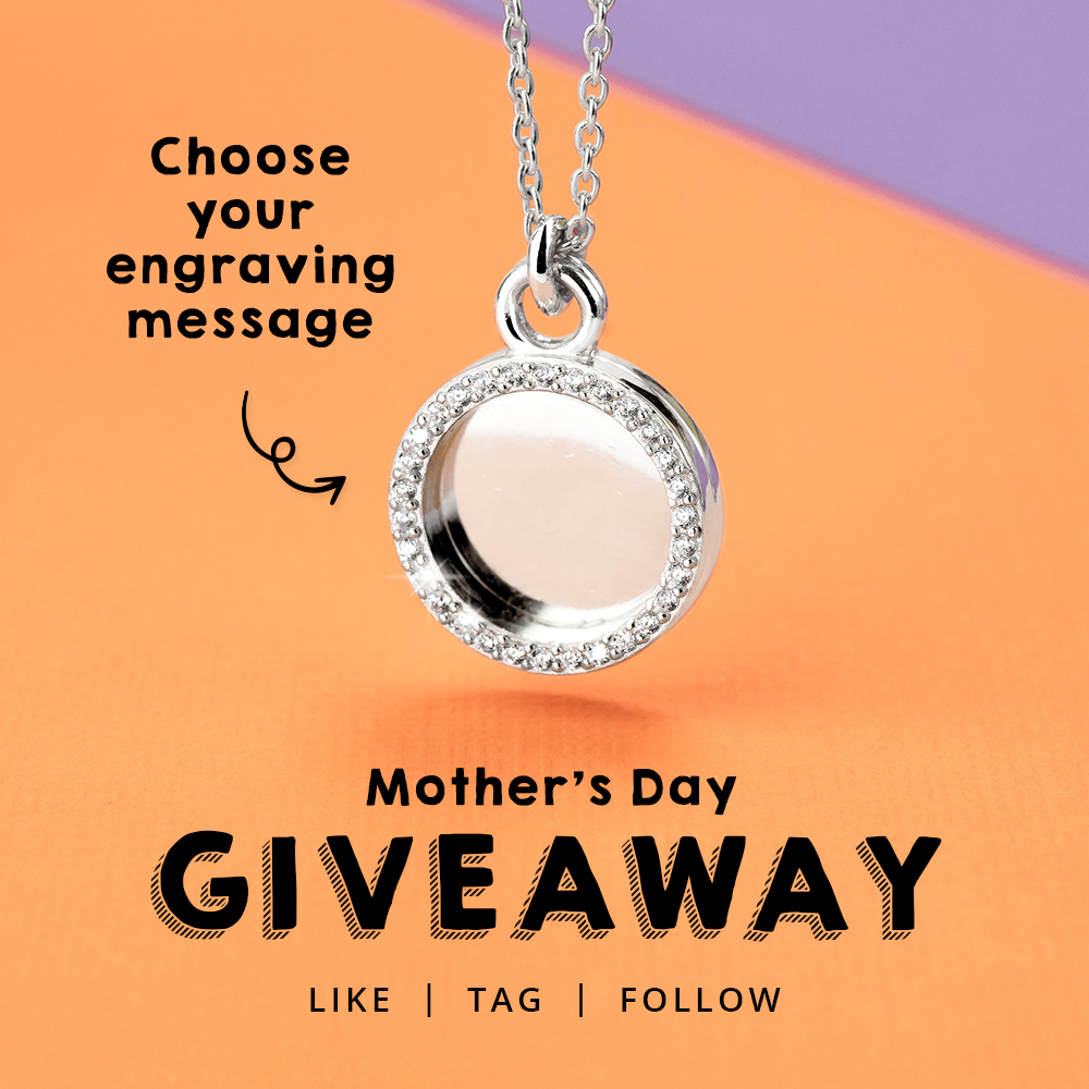 WIN an engravable necklace from John Greed ❤  ✔ Retweet this post  ✔ Tell us which superpower your Mum has   *We have posted this competition across all our social channels and ONE winner will be picked at random from them all. Competition ends TOMORROW at 12pm. GOOD LUCK
