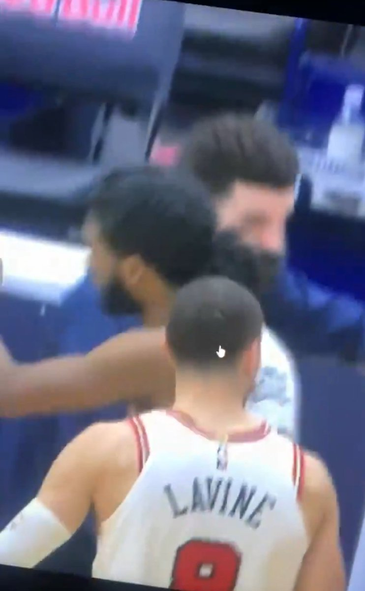 They went on the bench to hug Lonzo Ball   👂LonZo Ball to Bulls Rumours     Looks like bulls top 2 players wants to play with Lonzo Ball   #LonzoBall  #Pelicans