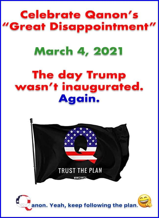 Who else plans on being in Washington DC today?  Anyone? Anyone?... Bueller...Bueller... Bueller...Bueller...  #QAnons #TrumpSOTU #Inauguration2021 #QPAC2021