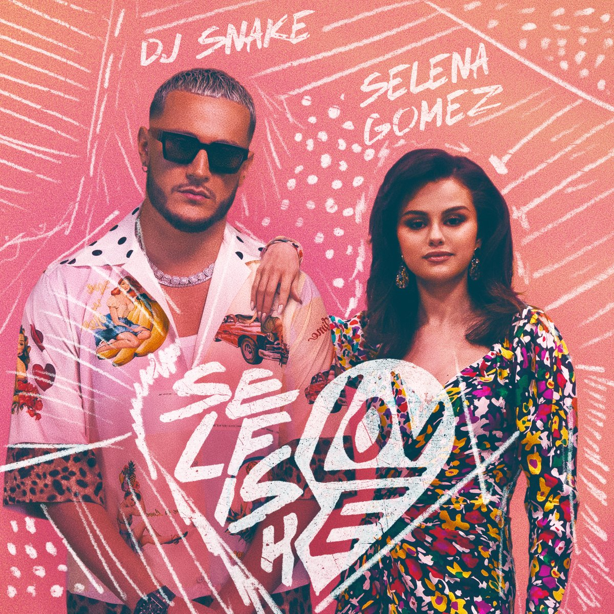 Selfish Love with @djsnake is out now everywhere!! 💞🎷