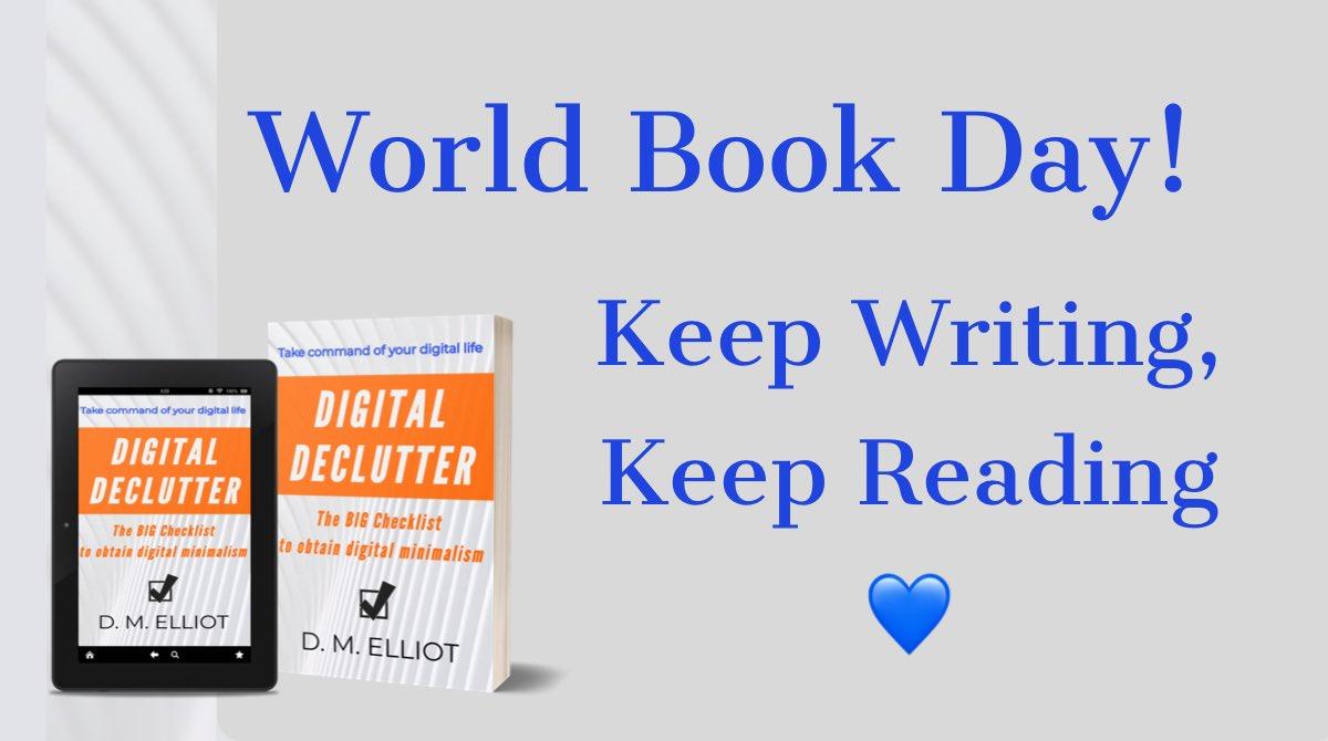 Keep Writing, Keep Reading! #WorldBookDay2021 #reading #writing #books #WorldBookDay