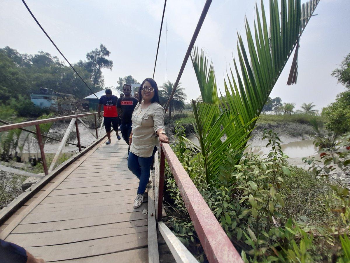 Visit Sundarbans Tourist Spot In Bangladesh #travel #travelphotography #travelblogger #travelgram #travelling #forest #sundayvibes #sundarbans