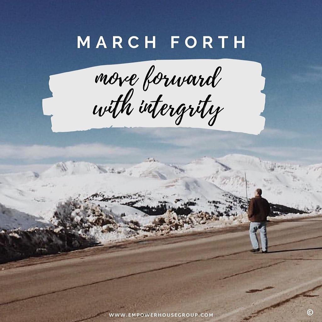 "Today's #DailyInnerWorkout   It's the perfect day to ""March 4th"" and keep your focus forward. Regardless if you're crawling, walking, running, or sprinting....  Keep moving toward a positive future!   Take the assessment  👉  #inspiration #Motivation"