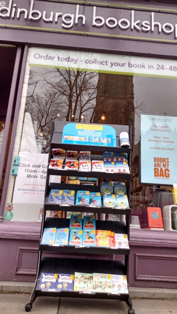 Happy #WorldBookDay !!!! #Bruntsfield #Edinburgh #books
