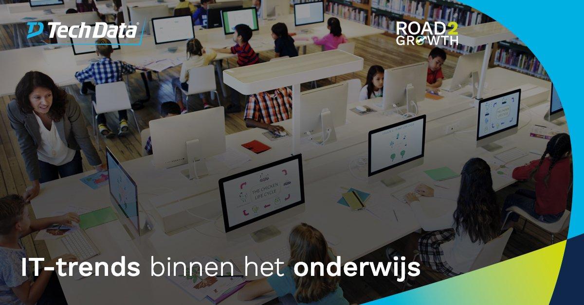 Het #onderwijs digitaliseert in razend tempo…